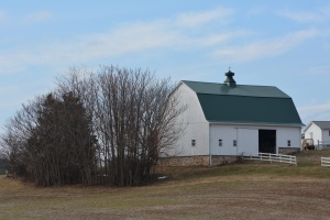 Barn along McKendree Road near Lisbon Photo by Mike Hartley