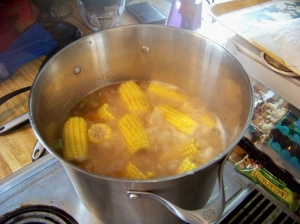 The Corn is a simmering