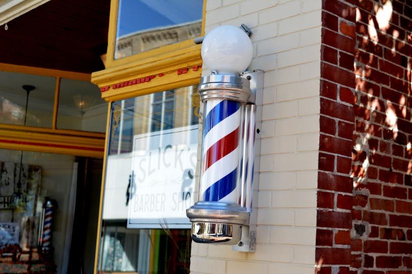 Slicks Barber Shop Photo by Mike Hartley