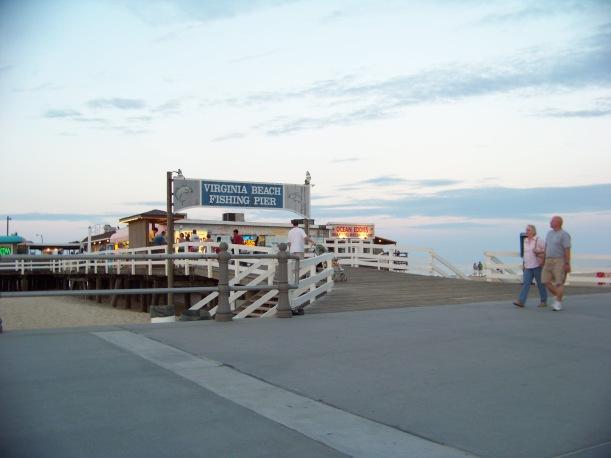 VA Boardwalk Pier  Photo by Mike Hartley