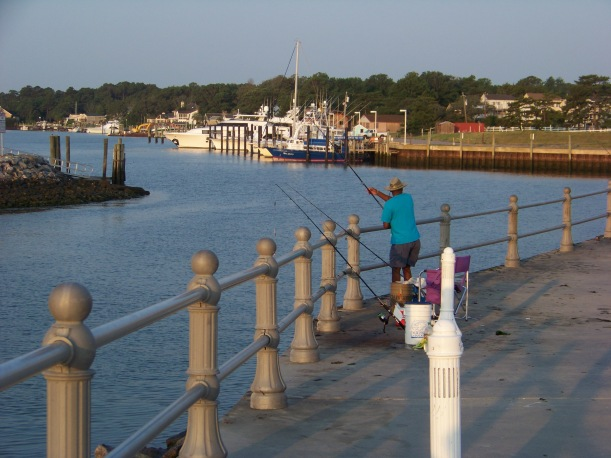 Inlet Fishing Photo by Mike Hartley