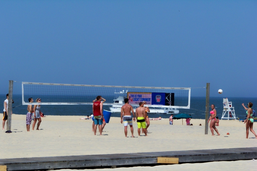 Beach Volleyball Photo by Mike Hartley
