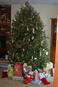 Another Christmas tree ready for Children Photo by Mike Hartley
