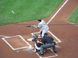 Ball, bat, bunt