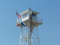 Guard tower at Inlet. Photo by Mike Hartley