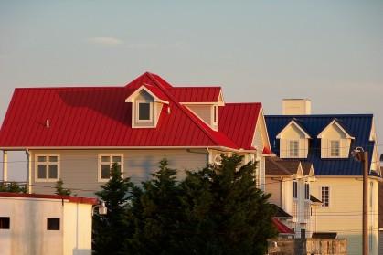 Roof contrast