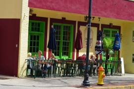 More outdoor dining Photo by Mike Hartley