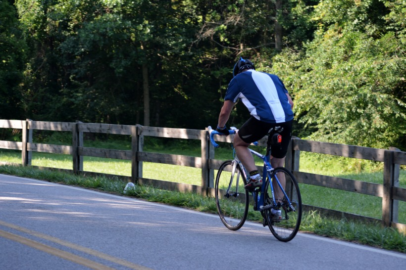 Morning ride along Tridelphia Mill Road. Photo by Mike Hartley