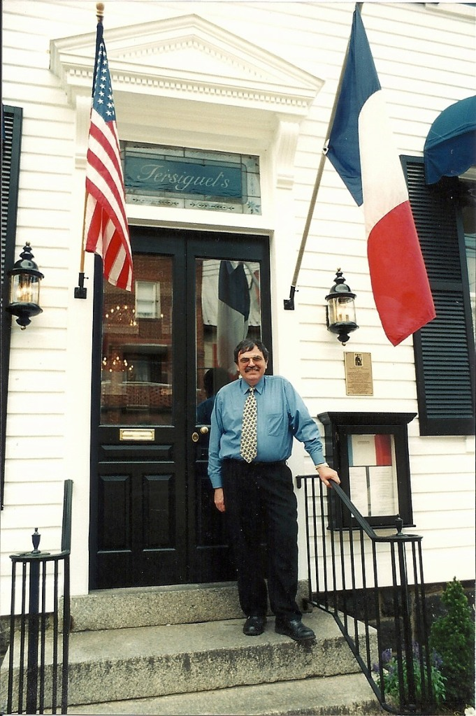Fernand Tersiguel standing outside his establishment.  Photo by Mike Hartley
