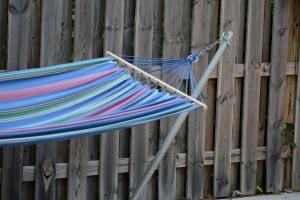 My hammock. Photo by Mike Hartley