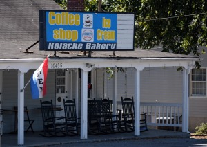 Kolache Kreations coffee and ice cream shop. Photo by Mike Hartley