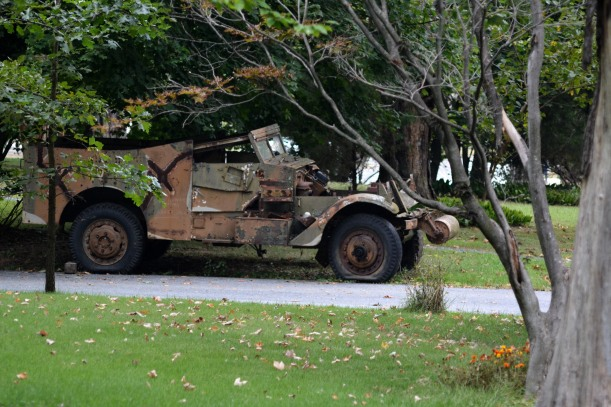 WW2 troop carrier. Photo by Mike Hartley