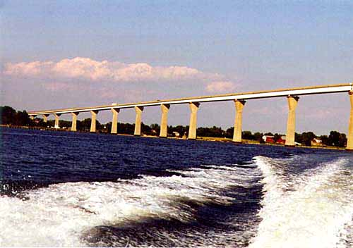 Severn River Bridge if my memory is correct. Photo by Mike Hartley