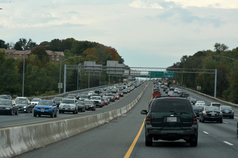 The Beltway (Baltimore) on a Friday afternoon. Photo by Mike Hartley
