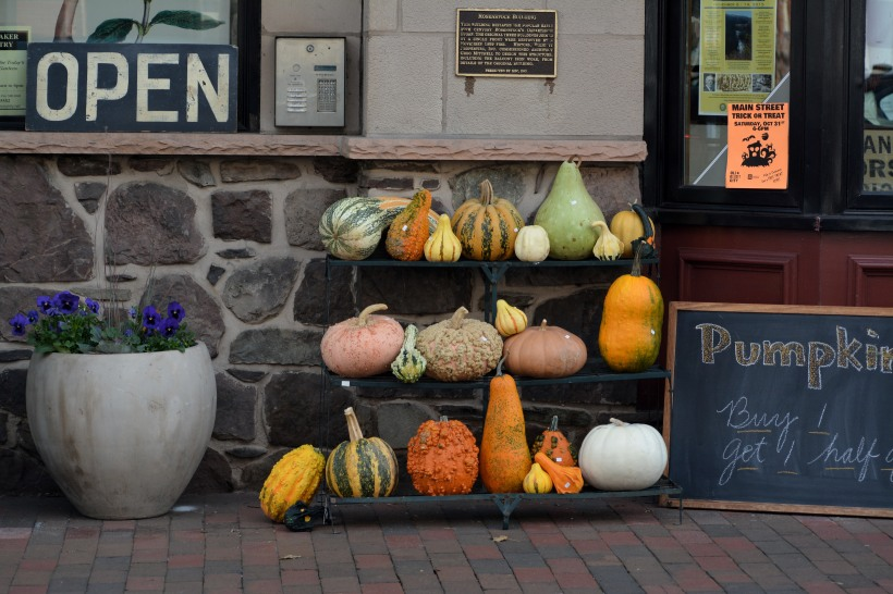 Gourds on Main Street Photo by Mike Hartley