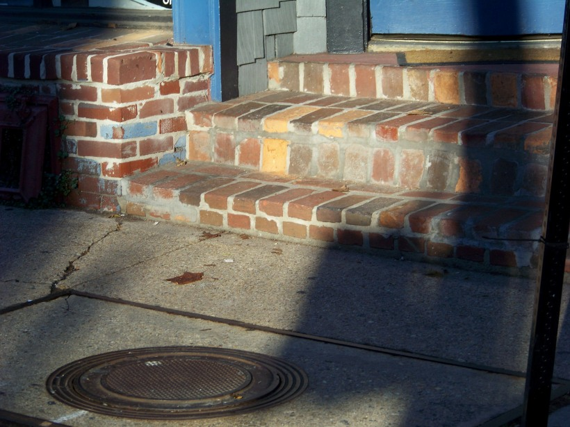 Steps in Ellicott City. Photo by Mike Hartley