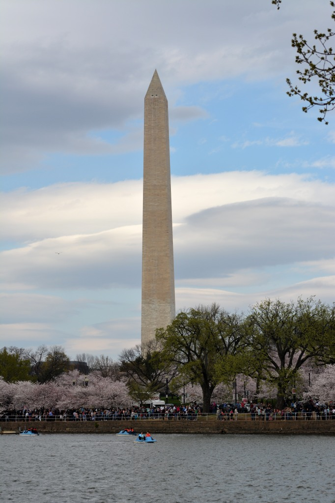 Clouds and Monument. Photo by Mike Hartley