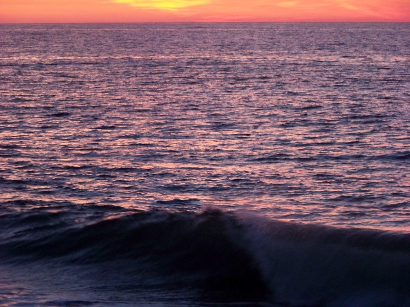 Sunrise in OC Photo by Mike Hartley