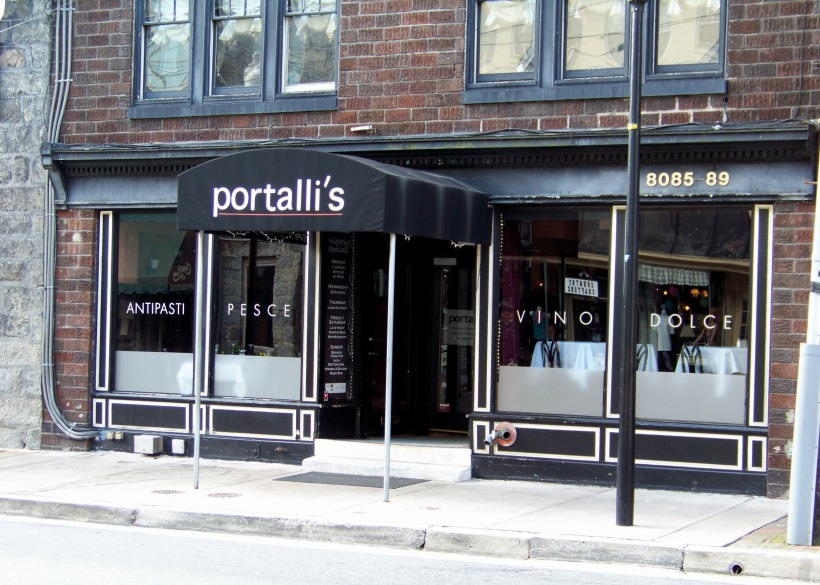 Portalli's in Ellicott City. Photo by Mike Hartley