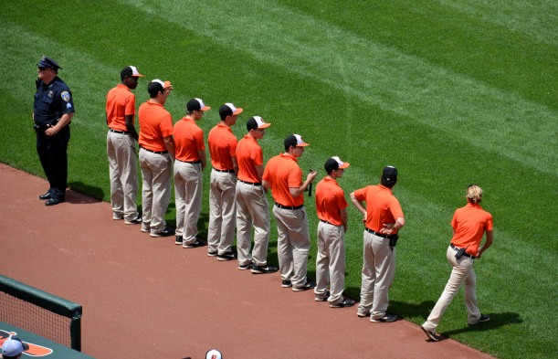 Leading today grounds crew. Photo by Mike Hartley