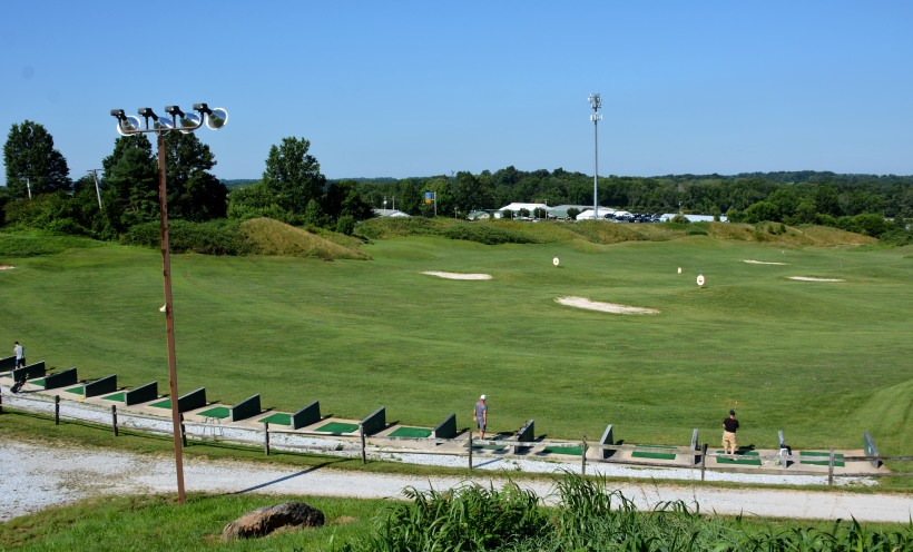 Driving range at Willow Springs Photo by Mike Hartley