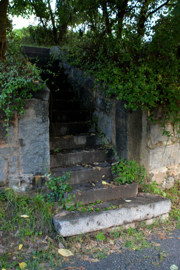 You can walk up steps but make sure they lead somewhere. Photo by Mike Hartley