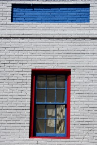 Window with an eyebrow. Photo by Mike Hartley