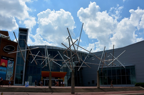 Maryland Science Center at Baltimore Inner Harbor Photo by Mike Hartley