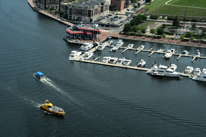 What is your type of transportation? Harbor taxi or Harbor Rocket? Photo by Mike Hartley