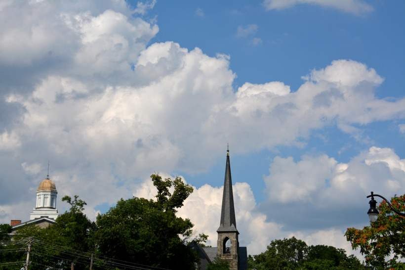 Clouds over EC in late June. Photo by Mike Hartley