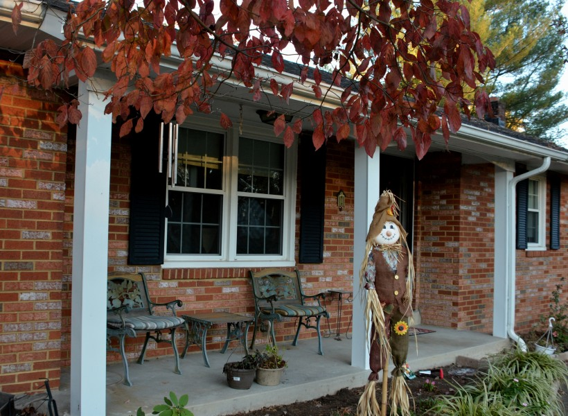 Our front porch. Photo by Mike Hartley