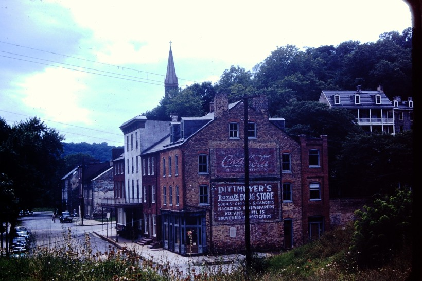 Harpers Ferry  Photo by my Parents.  Proper of TME