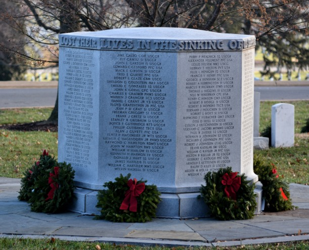 The USS Serpen Monument at Arlington Cemetery. Photo by Mike Hartley